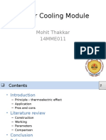 Peltier Cooling Module - PPT