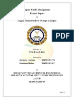 Scm Final Report - Orange