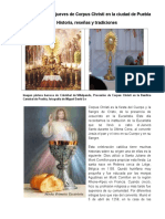 Celebración Del Corpus Cristi en La Puebla de Los Ángeles
