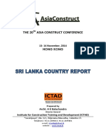 Sri Lanka Asiaconstruct Conference 2014