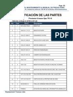 Manual de Partes Tramac Español