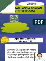 Contoh Lembar Balik Gastritis Lansia
