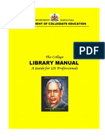 GOK_4TH SEP the College Library Manual