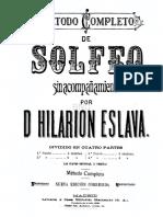eslava metodo de solfeo pdf