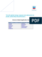 Chevron Global Application Statements