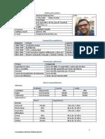 Curriculum Antonio Peñarroja Ros 12/12/2016