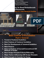 TCW_Validation of Design Aspects - Technical Guidelines Presentation for Part I_Geosynthetics Reinforced Pavements & Embankment