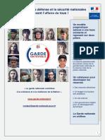Plaquette Numérique Garde Nationale