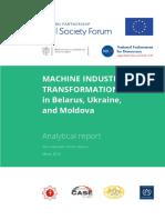 Machine Industry Transformation Report