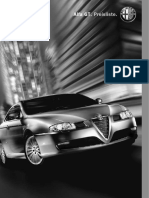 Alfa Romeo GT Pricelist (German)