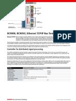 12.1.1 BC9000_BC9050 Controlador Terminal de Bus Ethernet En