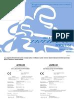 Libretto Manutenzione MT-09 Tracer