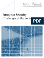 European Security – Challenges at the Societal Level