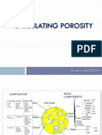 Calculating Porosity Well Log