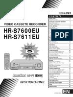 Jvc Hr s7600eu Users Manual 326480