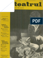 Revista Teatrul, nr. 4, anul IX, aprilie 1964