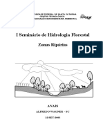 Seminario Hidrologia Florestal (2003)