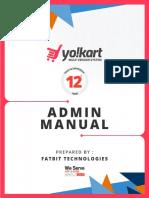 YoKart Admin Manual – Comprehensive Multivendor eCommerce Store Management System Simplified
