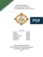 Laporan praktikum pengujian Sanitasi Udara Dan Ruangan, Dan Uji Sanitasi Pekerja