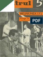 Revista Teatrul, nr. 5, anul IX, mai 1964