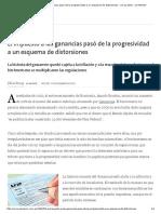 El Impuesto a Las Ganancias Pasó de La Progresividad a Un Esquema de Distorsiones - 13.12