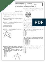 Revisão Final - 8 Ano - Poligonos e Triangulos - Cópia