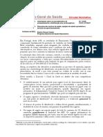 Orientações Sobre Os Procedimentos de Armazenamento e Distribuição Dos Contraceptivos