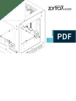 Zortrax M200 Manual