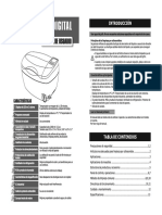 Manual Usuario Ultrasonidos Digital CD-4830