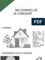 Sistema Domino de Le Cobusier