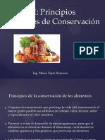 conservacion de frutas y hortalizas