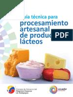 Manual Lacteos ARTE3SANAL