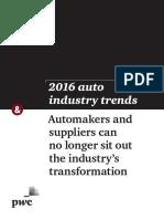 2016 Auto Trends