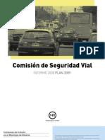 Informe Comisión de Seguridad Vial 0809