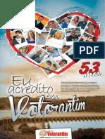 Gazeta de Votorantim,  edição de aniversário de Votorantim