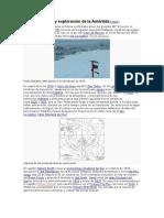 Descubrimiento y Exploración de La Antártida