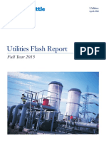 Utilities Flash Report 2015