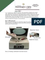 PRP Handout