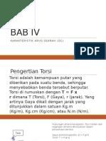 Bab IV Dan v Motor Dc
