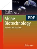 Faizal Bux, Yusuf Chisti Eds. Algae Biotechnology Products and Processes