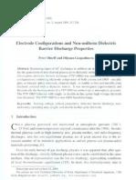 Electrode Configaration and Non-uniform Dielectric Barrier Discharge Properties    Facta Universitatis NIS 2009