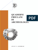 GLI SCAVI PER LA REALIZZAZIONE DELLE MODERNE FOGNATURE DI AQUILEIA (1968-1972)