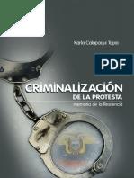 Criminalizacion de la Protesta Ecuador, las víctimas del correismo