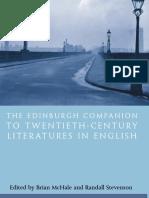 Brian McHale, Randall Stevenson-The Edinburgh Companion to  Twentieth-Century Literatures in English (2007).pdf