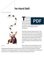 Resisting the Hard Sell