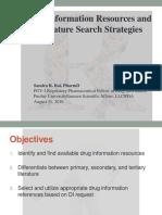 08 31 16 Drug Information Resources