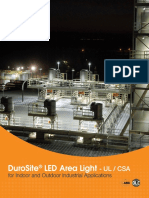 DuroSite® LED Area Light - UL CSA
