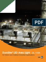 DuroSite® LED Area Light - UL CSA