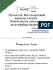 I Convención Macrorregional de Asesores Jurídicos