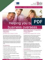 Online Marketing Cultural Awareness Flyer